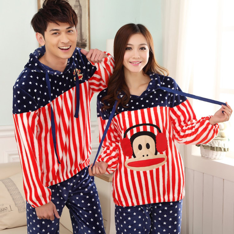 Matching Men And Women Pajamas