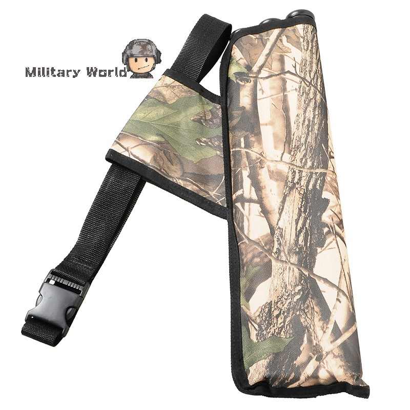 3 Tube Archery Sports Quiver Camouflage Quiver Arrow HolderWater Caza Arrows Bow Bag For Hunting Outdoor