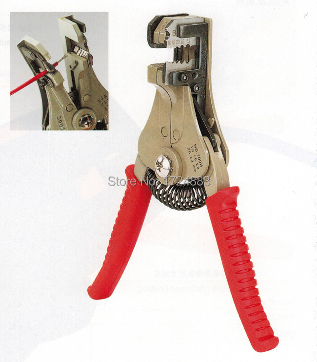 HS-700B Self-Adjusting insulation Wire Stripper automatic wire strippers stripping range 0.5-6mm2 With High Quality TOOL(China (Mainland))