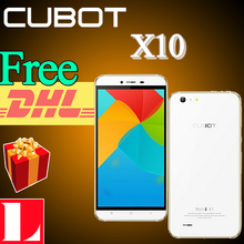 "Envío libre de DHL regalos! Cubot Original X10 MTK6592 Octa Core 5.5 "" HD de pantalla IP65 impermeable 2 GB RAM 16 GB ROM Android 4.4 13.0MP cámara(China (Mainland))"