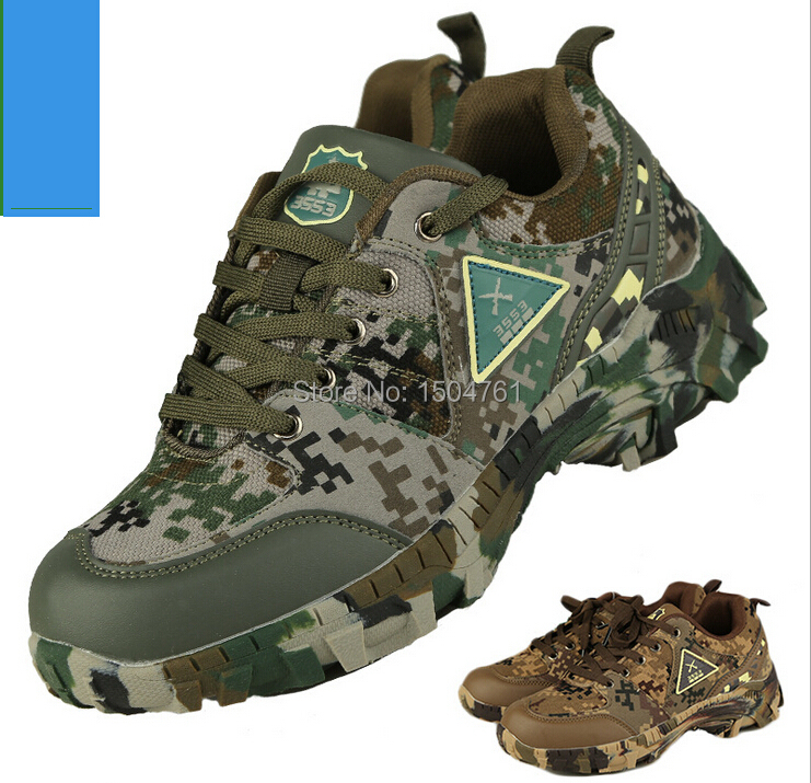 2015 Outdoor camouflage high desert/hiking shoes woodland ...