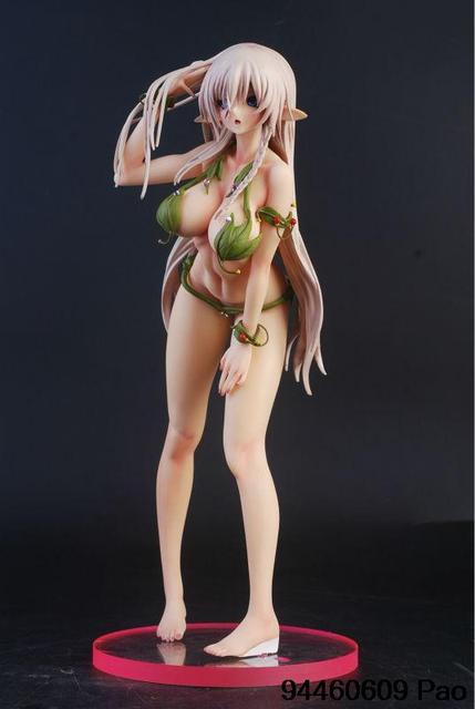 Hight Quality! Queen's Blade Alleyne Super Sexy Swimsuit 1/6 Pre-painted Resin Statue action Figure free shipping