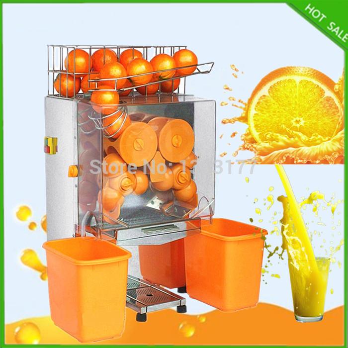 free ship Citrus orange automatic Juice Extractor machine commercial automatic orange juicer machine, orange juicer(China (Mainland))