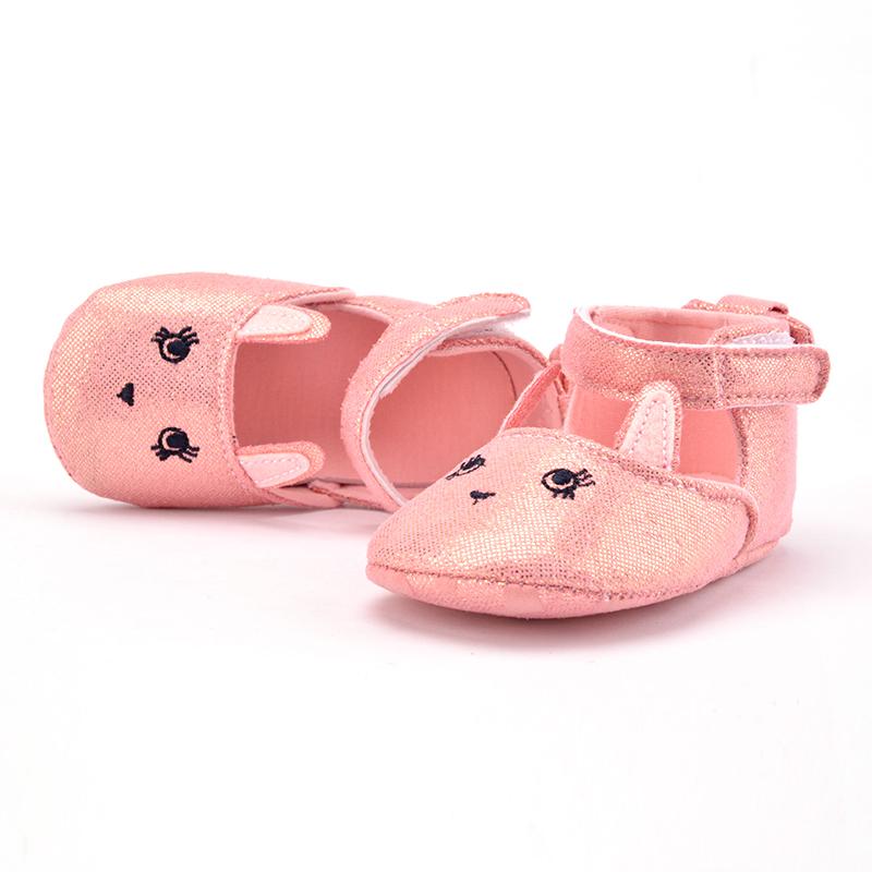 2016 NEW Summer Infant Kids Baby Girls Casual Prewalker Newborn Rabbit Printed Yeezy shoe S2(China (Mainland))