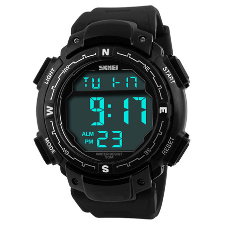 Reloj Hombre Outdoor Men Digital Sports Watches Men Army Military Watch Fitness LED Electronic Multifunctional Wristwatches
