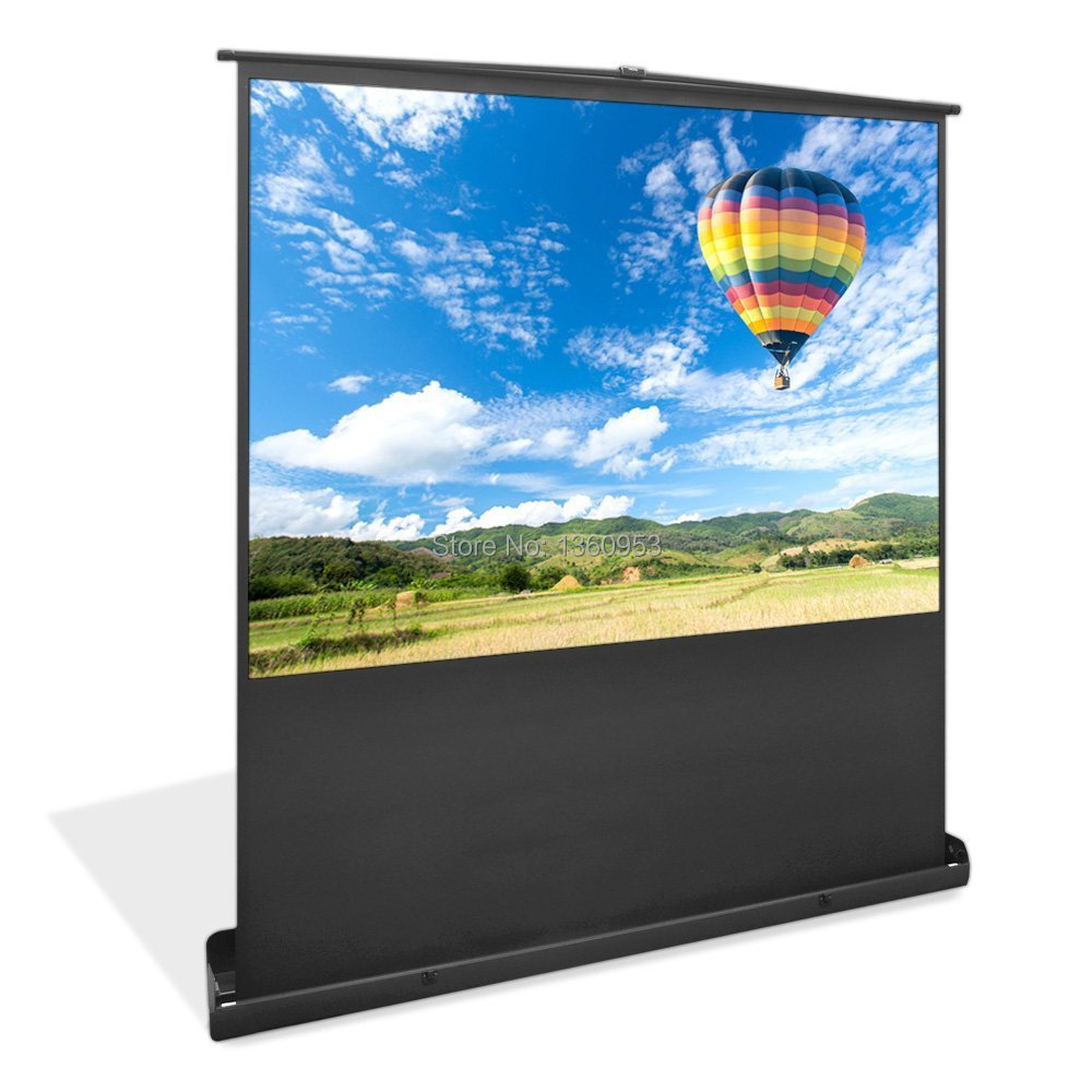 Portable Screen House With Floor : Quot easily assembling portable floor up projection