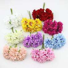 Buy 3cm Silk Stamen Daisy artificial flower wreaths wedding decoration DIY Scrapbooking,60pcs/lot for $9.30 in AliExpress store
