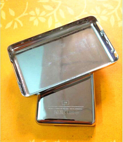 thick 256GB/500GB/512GB/1TB customizing Metal Back Cover for ipod Video/Classic(China (Mainland))