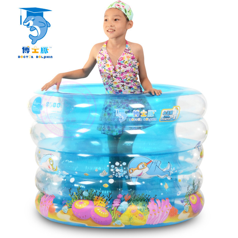 Dr. Dolphin manufacturers, wholesale baby pool, baby swimming pool transparent thick round, a generation of fat(China (Mainland))