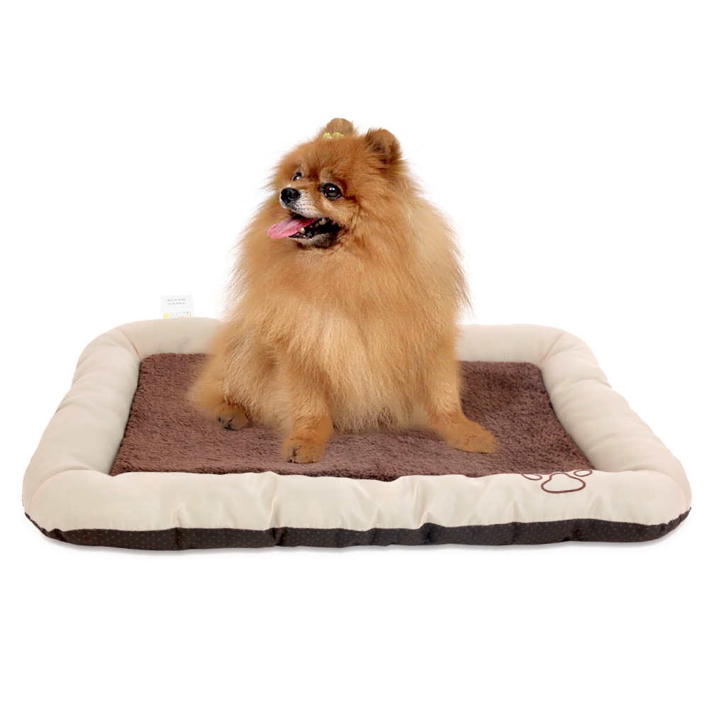 3 Sizes Soft Dog Mat Pets Cushion Cats Bed Puppy Kennel Pet's Mat Cushion for Dog Pet Bed Cat Mat Kitty Nest Doggie Bed Kennel(China (Mainland))