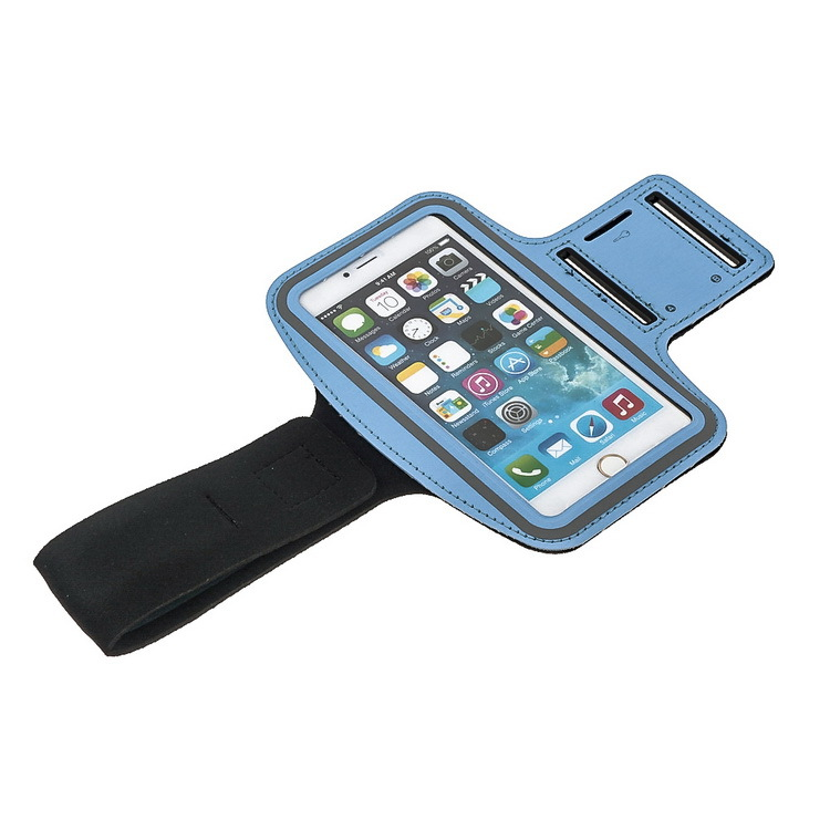 5.5inch GYM Sport Waterproof Case For Iphone 6 Plus Luxury Belt Wrist Strape Cover Phone Bags For iPhone6 Plus With Key Holder(China (Mainland))
