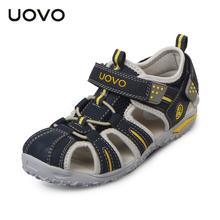 UOVO New Children Beach Girls Sandals,Safe Kids Shoes For Boys,Nonslip Sandalias Infantil,Girls Shoes,Children Shoes Girls,24-38(China (Mainland))