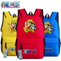 New One Piece Luffy Backpack oxford Schoolbags Canvas Fashion Unisex Travel Laptop Bag