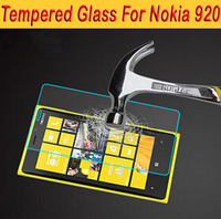 Original Anti-shatter Tempered Glass For Nokia Lumia 920 9H Hard Ultra Thin Screen Protector For Nokia Lumia 920 with Package