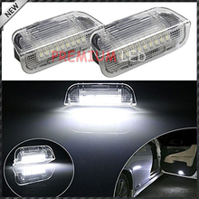 pair White Error Free 18-LED Side Door Lights VW Golf GTi EOS Jetta Passat, etc - Premium LED hause store