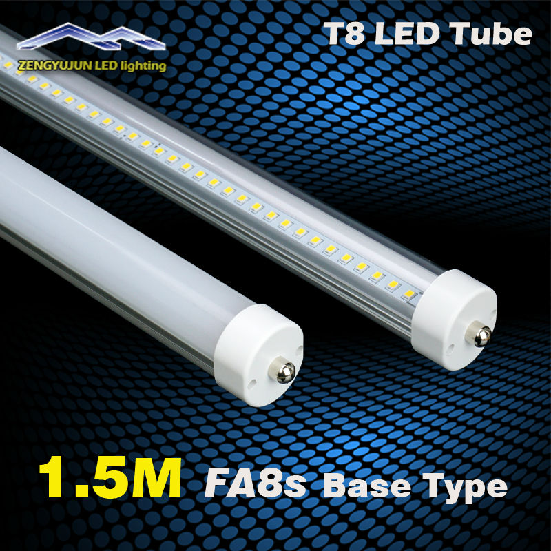 One Needle FA8 5FT LED Tube Light 200pcs LED Lamp beads 5 feet 22w 25w 27w 30w T8 1500MM fa8s Base Type<br><br>Aliexpress
