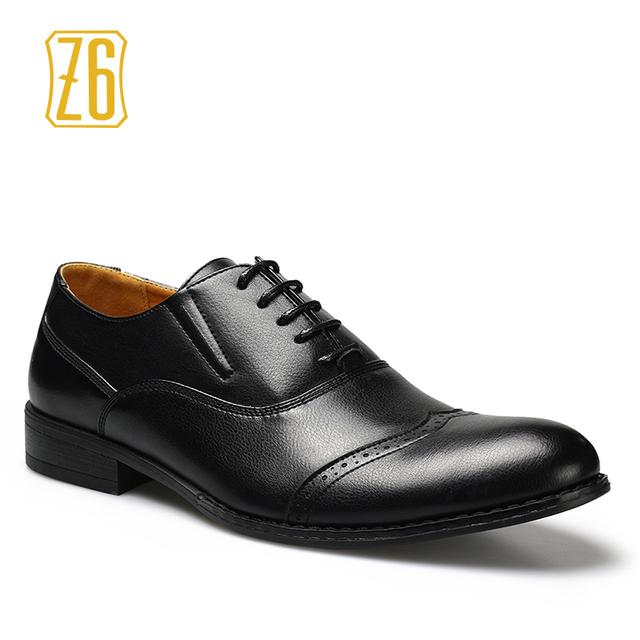 39 - 44 мужчин свадебные туфли Z6 марки классические деловые острым носом джентльмен ...