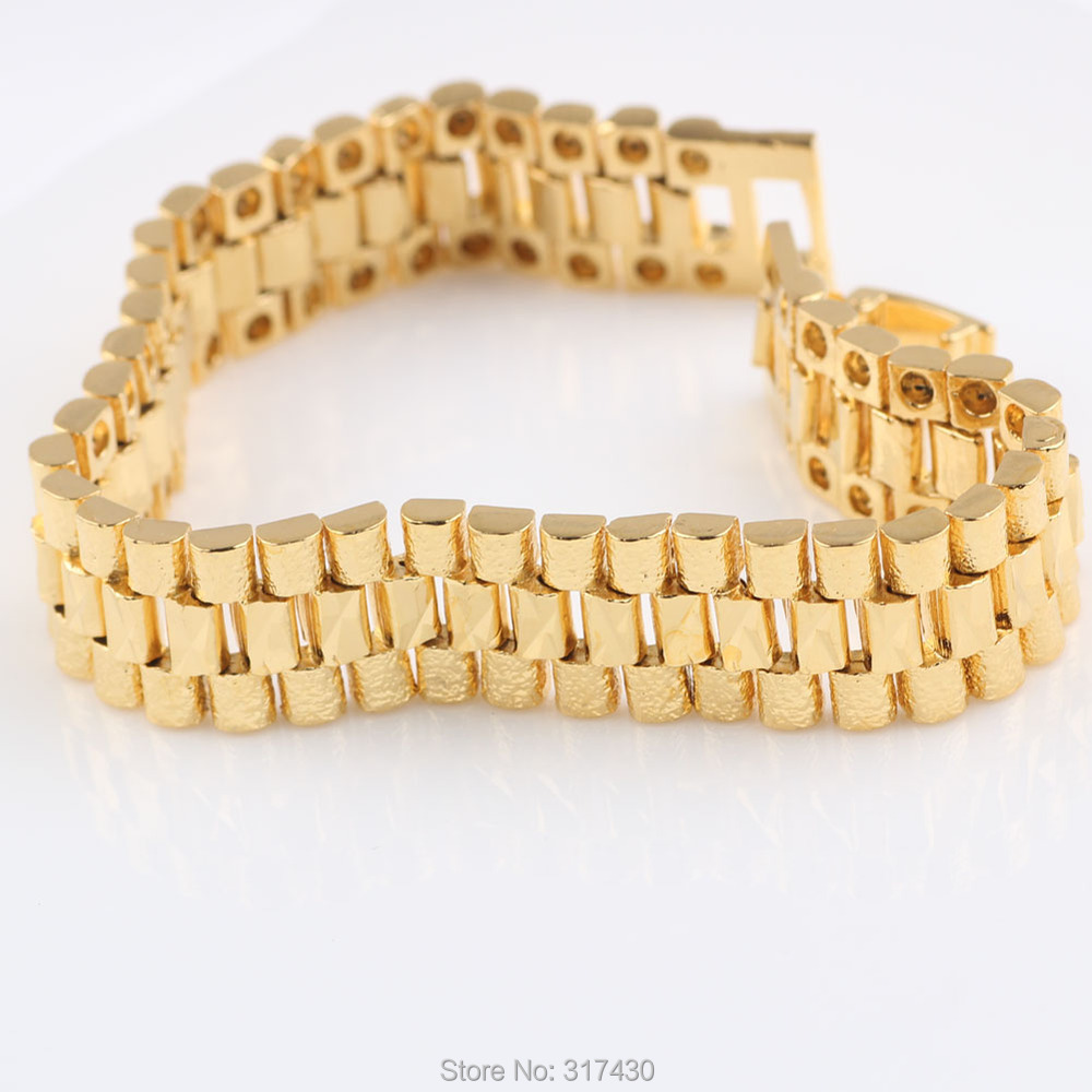 Mens gold wrist bracelets best bracelets for Best mens jewelry sites