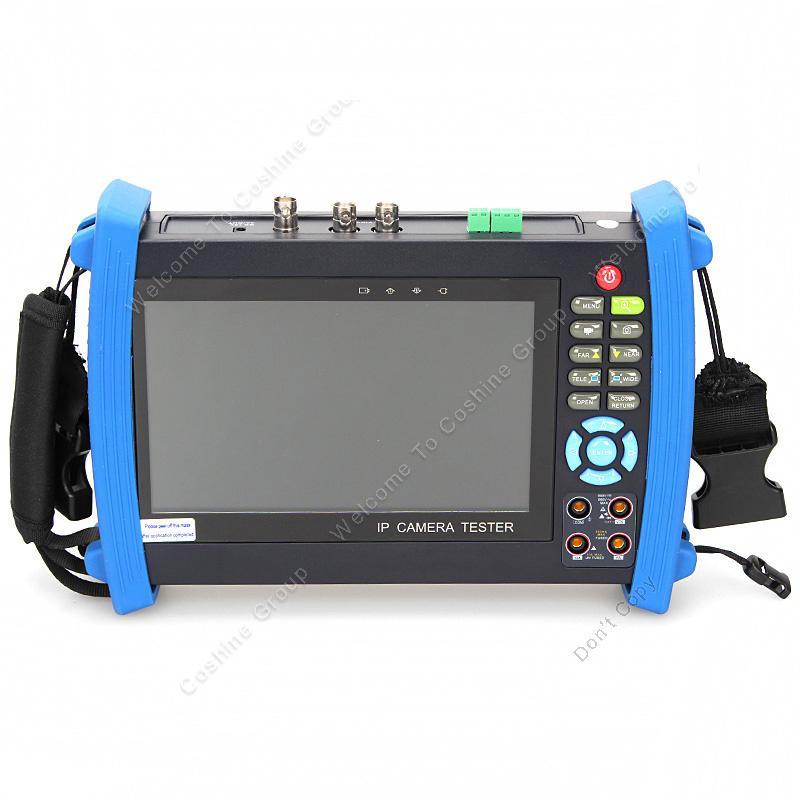 Free Shipping!WYT IPC-8600MS 7 Monitor ONVIF IP HD-SDI Camera PTZ TDR POE Test 12V-Output<br><br>Aliexpress