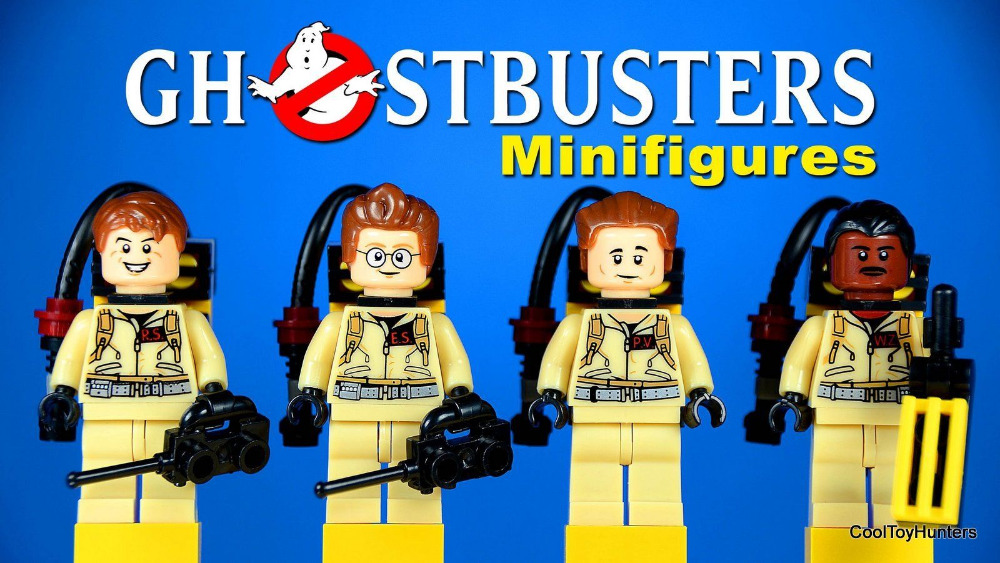 Ghostbusters Movie Dr. Raymond Peter DIY Building Bricks Blocks Action Figures Assemble Minifigures Kids Toys Gifts - LEG0 TOYS store
