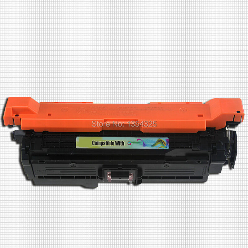 4PC Lot Compatible For HP LaserJet CP3525N toner cartridge For HP 504A CE250A CE251A CE252A CE253A