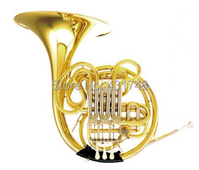 F/Bb Four Keys Double French Horn With ABS case(China (Mainland))
