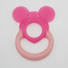 2016 Cute Baby Mordedor Teether Product Silicon Baby Teether Infant Training Toddler Chewing Cool Toothbrush Massager Silicone