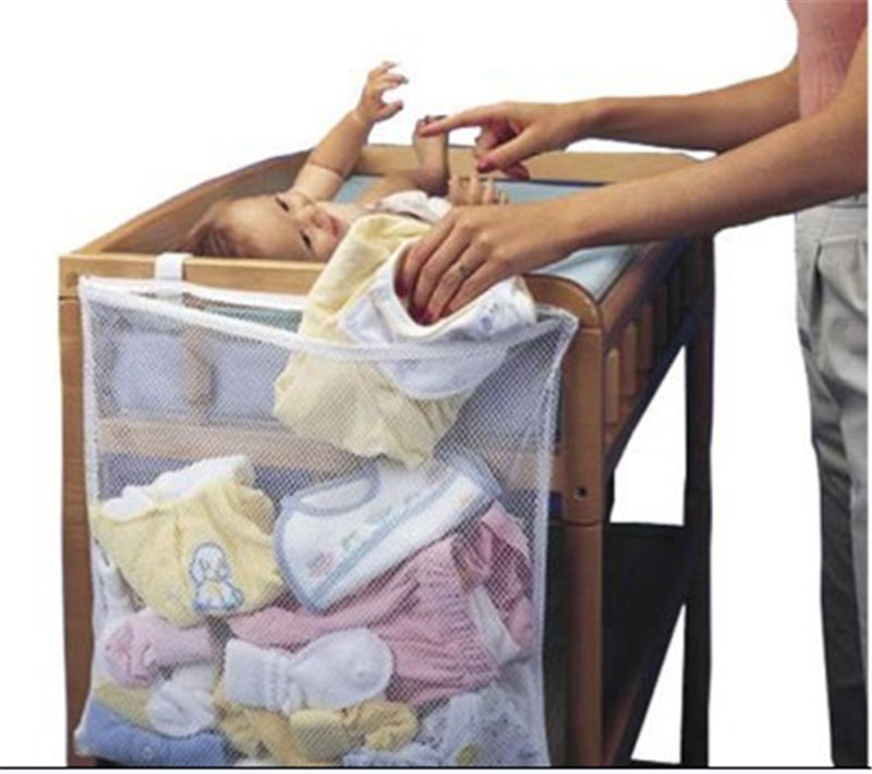 Home Clothes Storage Organization multi Baby Diaper Nappy Crib Hanging bag Nursery Closet Furniture Accessories Supplies Product(China (Mainland))