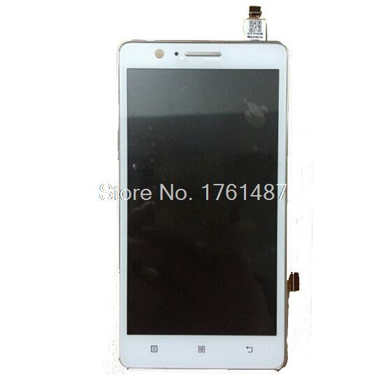 Original LCD Display Touch Digitizer Screen Assembly with frame Complete For Lenovo A536 Free Shipping