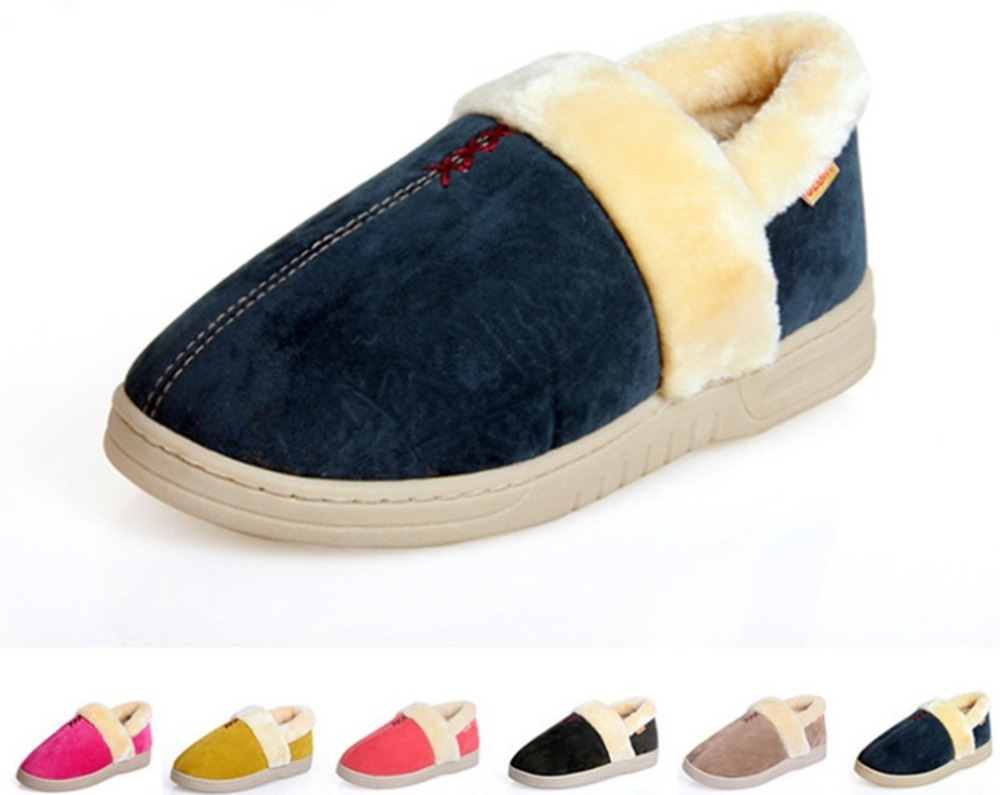 2013New Winter Men's Women's Warm Slippers Quality Casual Cotton Shoes Comfortable Home Shoes(China (Mainland))