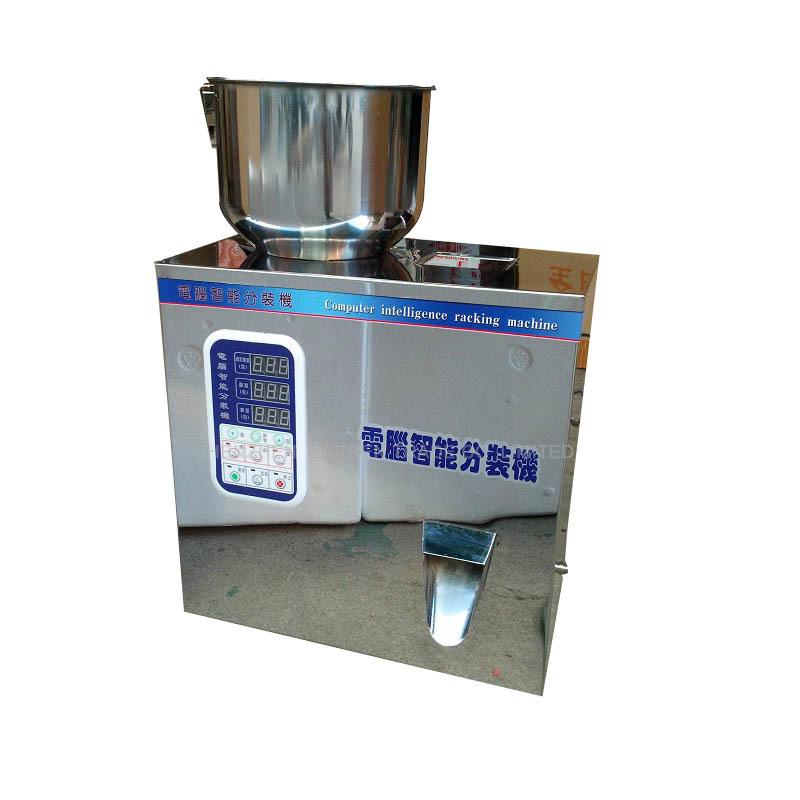 Free ship by DHL 2PCS 1-50g tea Packaging machine filling machine granule medlar automatic weighing machine powder filler(China (Mainland))