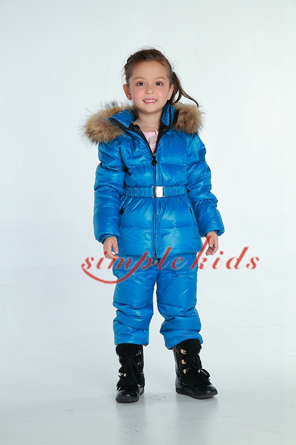 2013 winter childrens clothing baby down coat set baby ploughboys raccoon fur hot-selling<br><br>Aliexpress