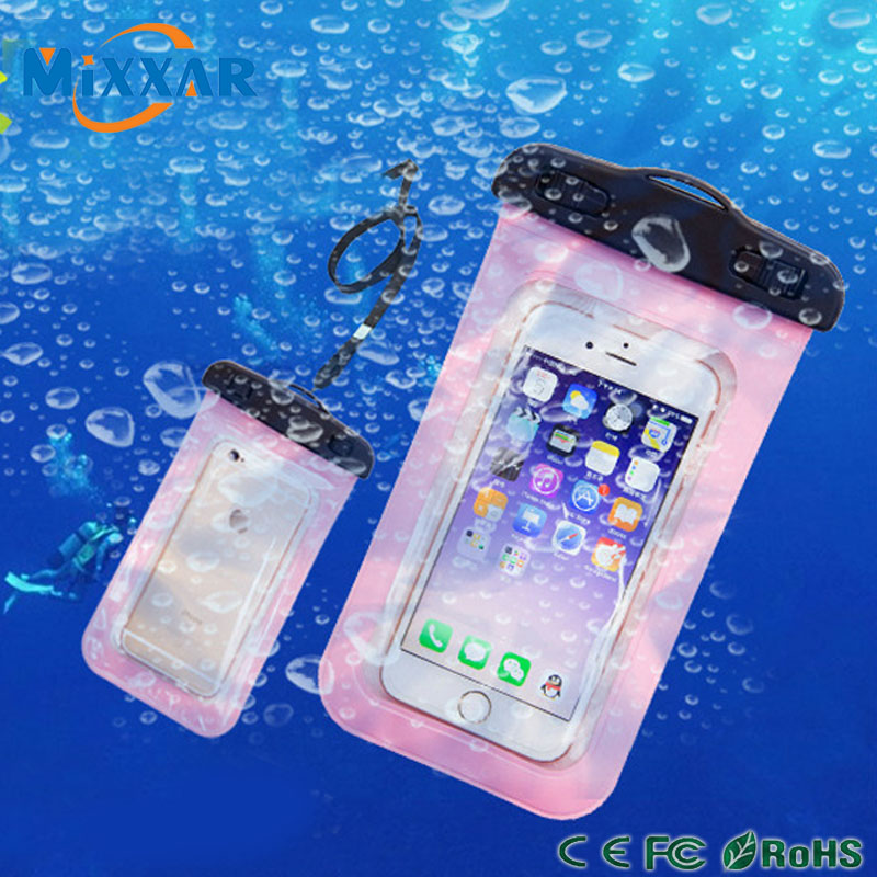 zk90 Waterproof Pouch Portect Case Cover Phone Camera Phone Waterproof Bags for iphone 4 4S 5 5S 6 6S Phone Below 5.8 inch(China (Mainland))