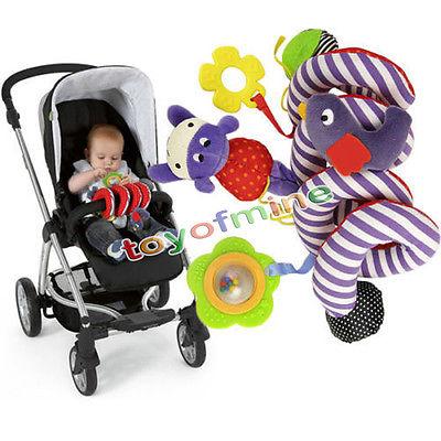 Infant Baby Music Multifunction Chic Kid Crib Bed Pram Animal Hanging Toy NEW(China (Mainland))