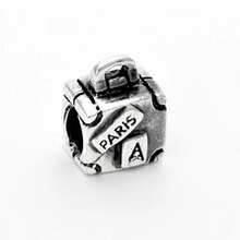 Free shipping 2015 New Arrive Alloy Beads paris handbag bead charm Fit Women Bracelet&bangle Necklace jewelry YW15097