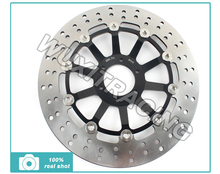 Black Front Brake Disc Rotor Honda RS R 125 GP 91-05 92 93 94 95 96 04 HORNET 250 97-15 10 06 07 08 09 11 12 13 14 - Wuxi Thai-Racing Trade Co., Ltd. store