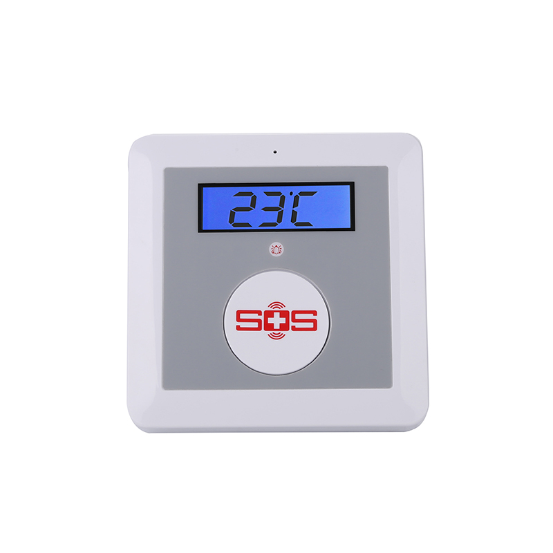 GSM Home Alarm System SOS Call Elderly Care Alarm Home Safety Security Equips LCD Temperature Detector SOS Button King Pigeon K3(Hong Kong)