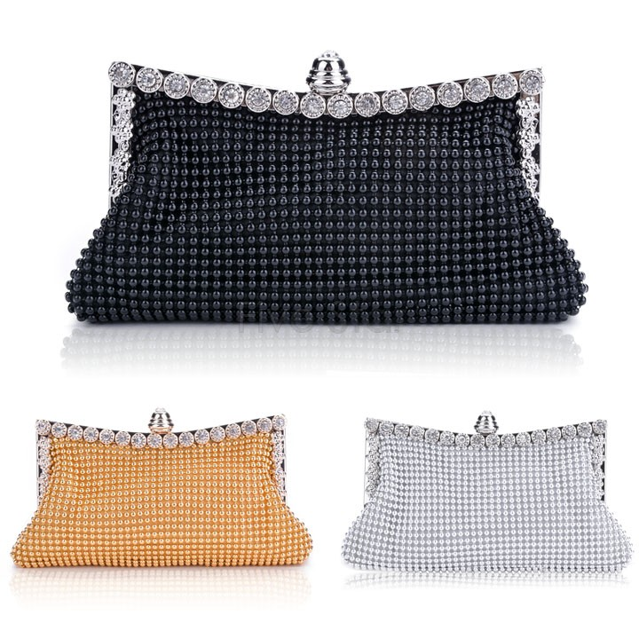 2015 new clutch small bag casual women's handbags lady party mini crystal evening bags shinning beach bag wallet purse tote 51(China (Mainland))