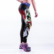 Buy 2017 Fitness Leggings Black Slim Trousers Pants Casual Patchwork Elastic Workout Leggings Women Trousers for $8.98 in AliExpress store