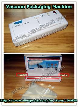 220V/110V SINBO DZ-280 Household Food Vacuum Plastic Bag Sealer Machine for food friuts,vegetable saving packer equipment