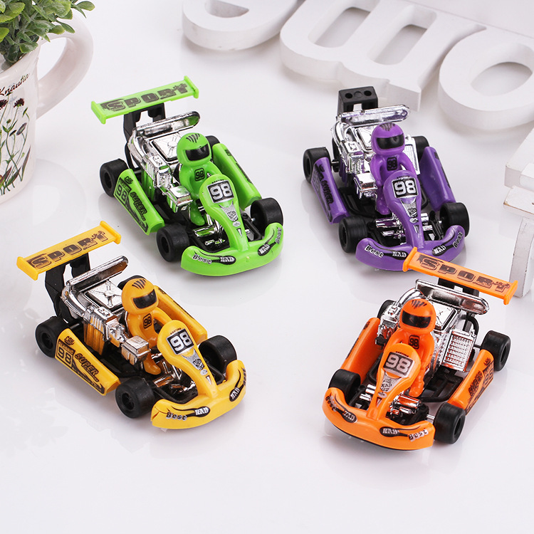 4 psc/set F1 Racing Cars Toys Powerful Pull Back Vehicles Birthday Gift For Kids Child Brinqueos(China (Mainland))