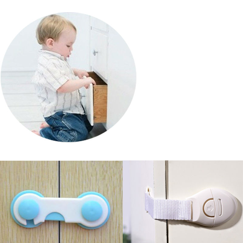 Cabinet Door Drawers Refrigerator Toilet Safety Plastic/Cloth Lock For Child Kid Baby Safety Best Deal<br><br>Aliexpress