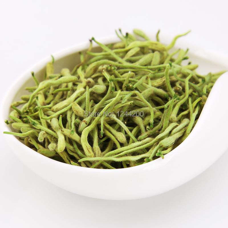 20шт/Лот=1 кг китайской травяной медицины Цзинь Инь Хуа * Каприфолия цветочные и травяные чая 50g 1.76 унции,