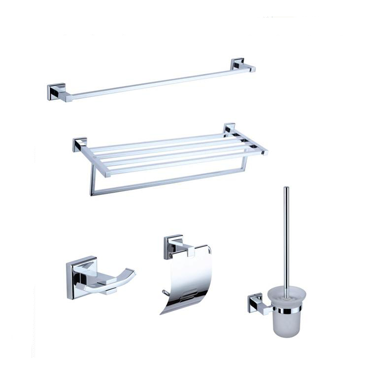 Big promotion bathroom accessories set guaranteed five pcs for D line bathroom accessories