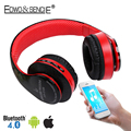 EDWO 212B Bluetooth Headphone Wireless Stereo Headset Earbuds Witn Mic Noise Cancelling FM Radio TF Card