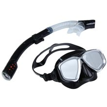 2IN1 Swimming Diving Protective Goggle Breathing Tube Snorkeling Mask Set  H1E1(China (Mainland))