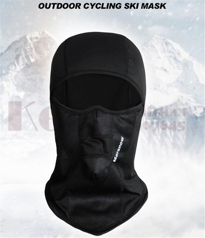 Marsnow Winter Warm Cap Ski Face Mask Outdoor Sport Thermal Scarf Snowboard Hiking Motorcycle Hat Fleece Mask