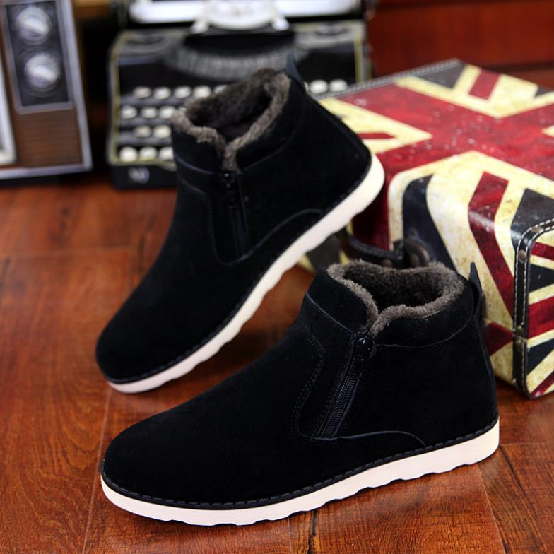 Гаджет  3 Colors New 2015 Winter Male Casual Outdoor Winter Boot Lacing Men
