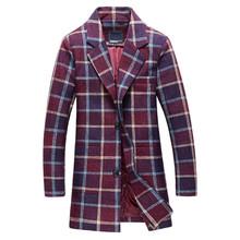 2016 зимой новое прибытие мужская мода отдыха долго сетки пальто мужская куртка ветровка blazer Бесплатная доставка(China (Mainland))