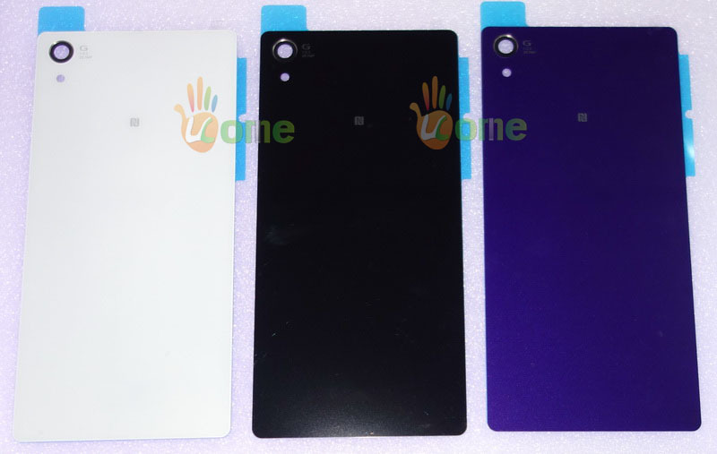 Original Sony Xperia Z2 L50 L50w D6503 D6502 D6543 Battery Cover Back Rear Door Glass Stick Housing - YOU KIT Mobilephone Accessories store